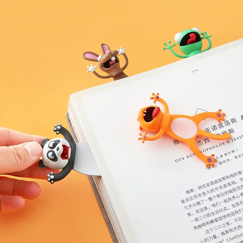 Ouch! Squashed Animals Bookmarks